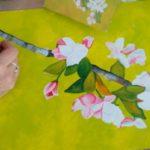 Flores en proceso